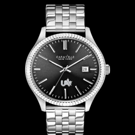 Caravelle by Bulova Men's Stainless Steel Bracelet Watch