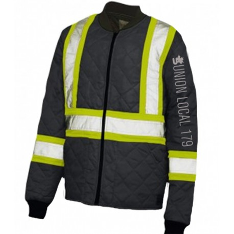 QUILTED SAFETY JACKET